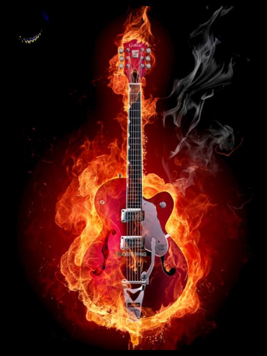 Схема огненной гитары