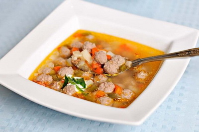 Суп с фрикадельками (400x266, 36Kb)