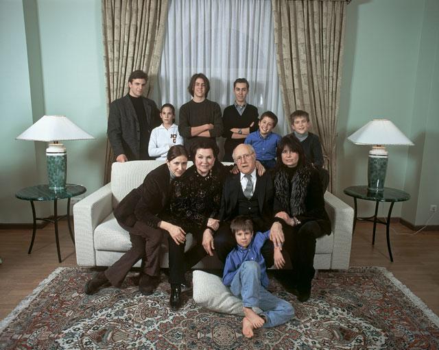 Семья Ростроповичей 2002 (640x511, 59Kb)