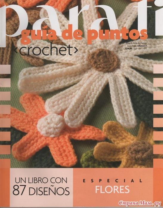 Para Ti журнал цветы крючком (1) (547x700, 285Kb)