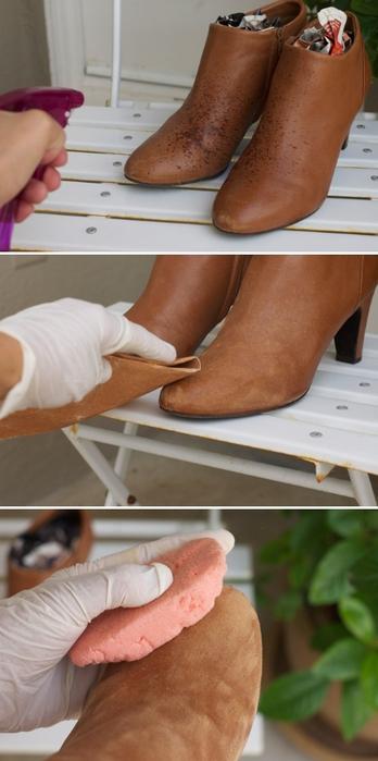 Как Размягчить Кожаные Туфли