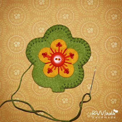 цветок из фетра (6) (420x420, 66Kb)