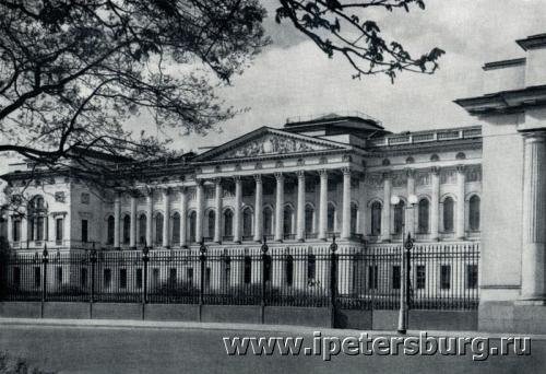 Фасад Михайловского дворца (500x342, 160Kb)
