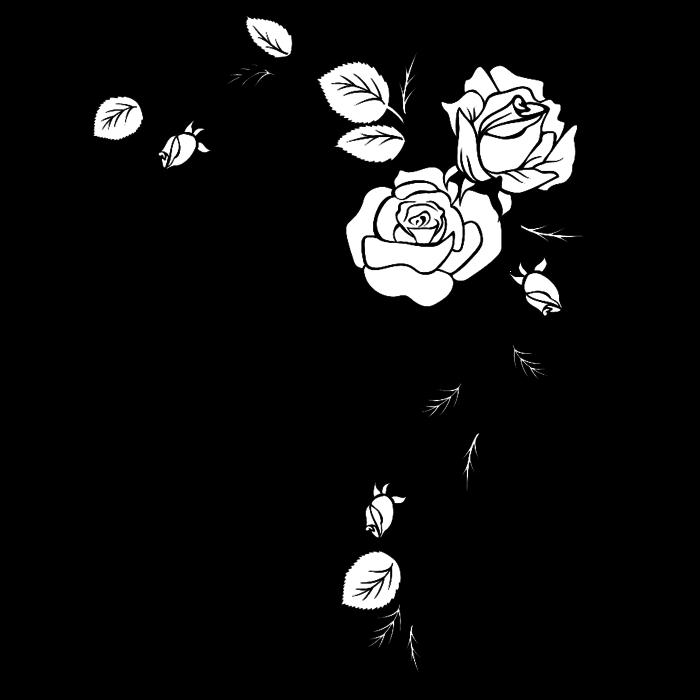 Шаблоны для творчества розы