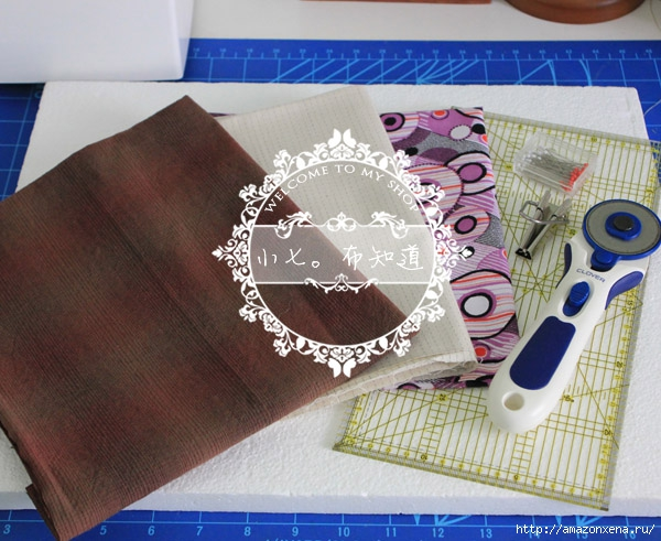 салфетка-плетенка из ткани (3) (600x491, 217Kb)