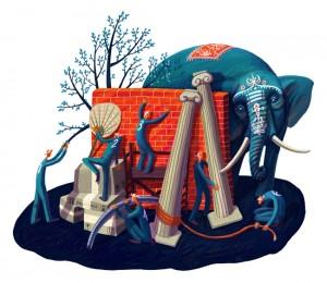 Слон и пятеро слепых -НИЗ (300x260, 27Kb)