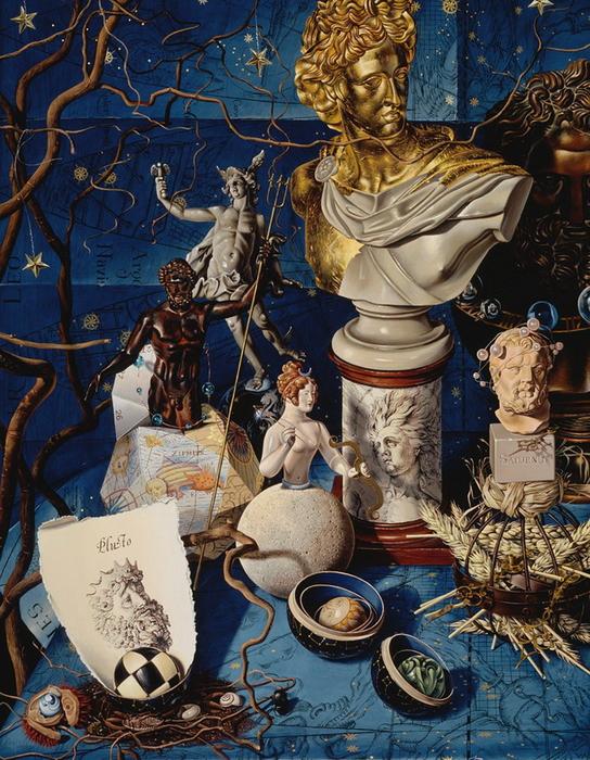 реалистические картины Miriam Escofet 5 (544x700, 461Kb)