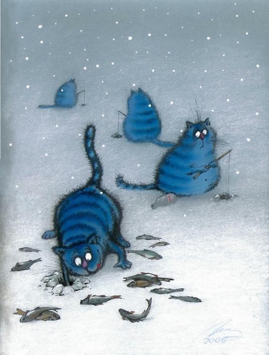 смешные коты картинки 14 (532x700, 264Kb)