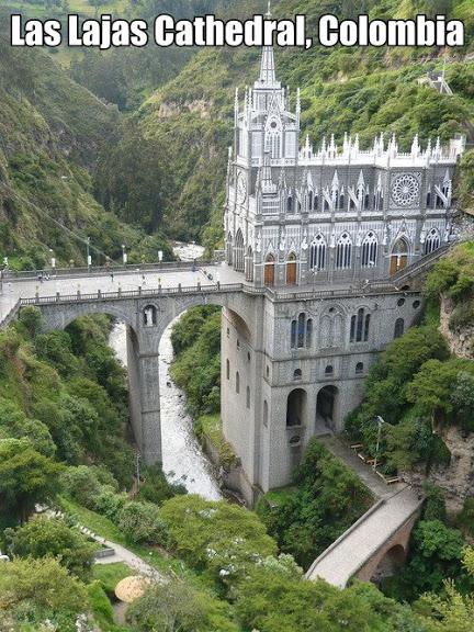 Кафедральный собор Лас-Лахас в Колумбии 62726