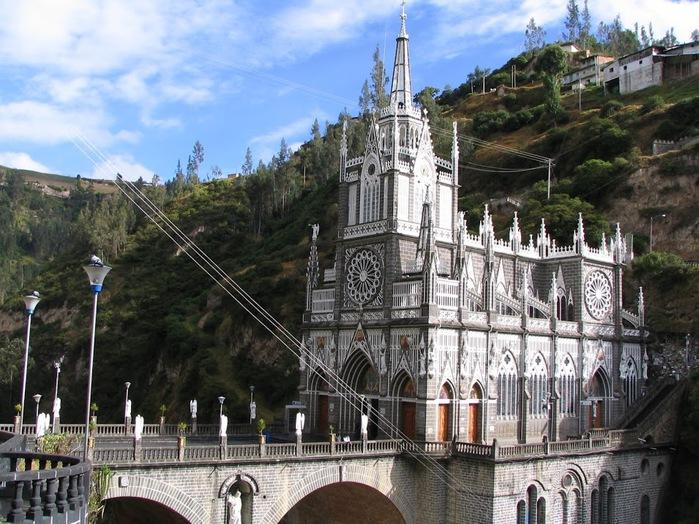 Кафедральный собор Лас-Лахас в Колумбии 48177