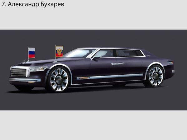 Автомобиль для президента РФ Владимира Путина Фотографии