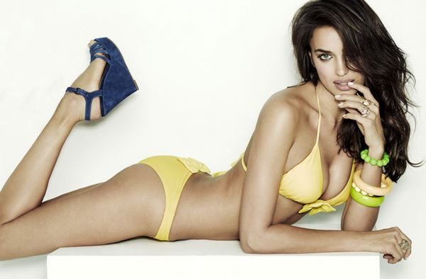 Ирина Шейк в рекламе обуви Xti. Фотографии