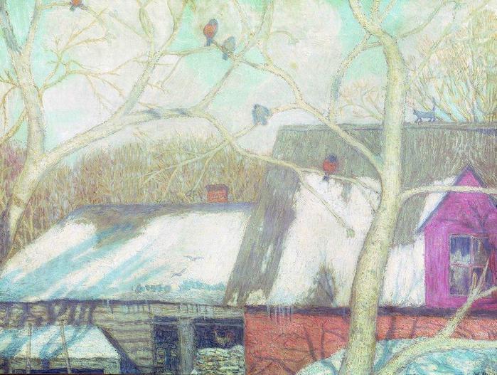 Пейзажи февральские пейзажи