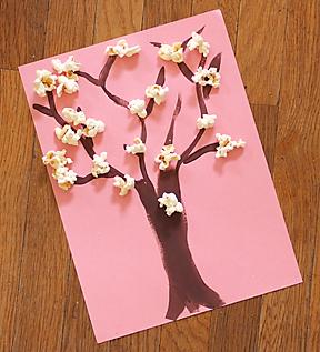 Поделки из бумаги к весне своими руками