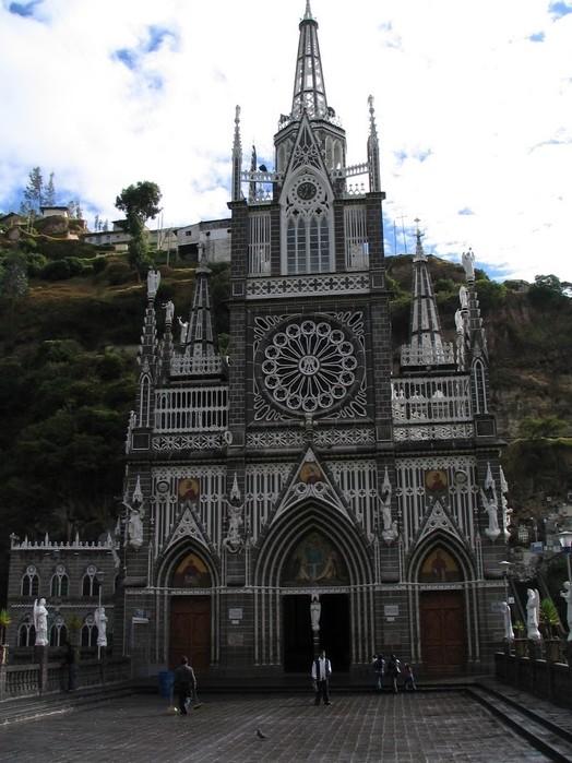 Кафедральный собор Лас-Лахас в Колумбии 50787