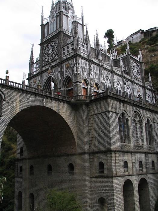 Кафедральный собор Лас-Лахас в Колумбии 13418