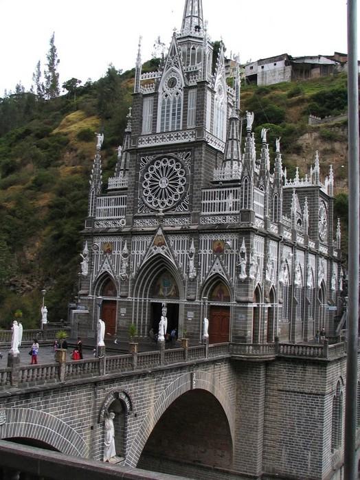Кафедральный собор Лас-Лахас в Колумбии 93386