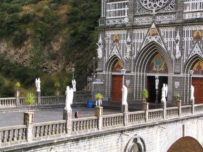 Кафедральный собор Лас-Лахас в Колумбии 56025