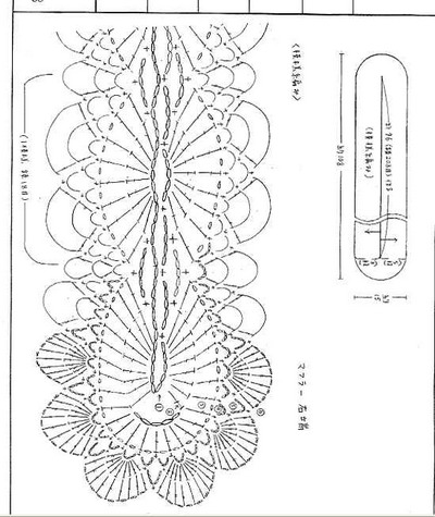 b крючком /b шарфы - Сайт: вяжем b крючком /b.