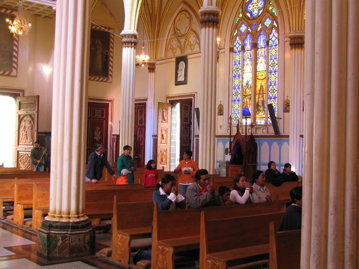 Кафедральный собор Лас-Лахас в Колумбии 94313