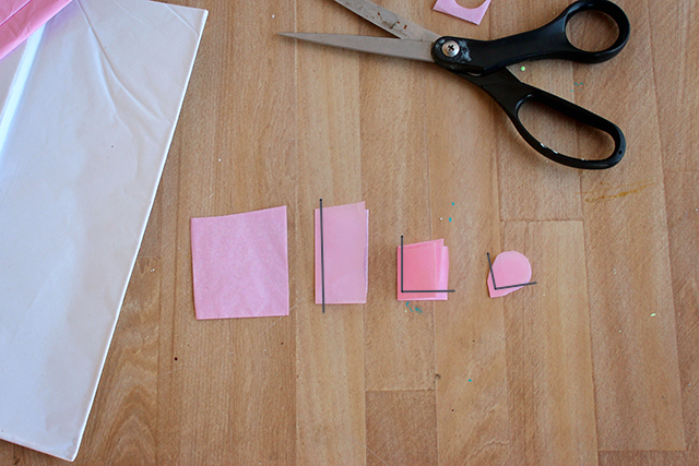 веточка цветущей вишни из бумаги (2) (640x427, 299Kb)