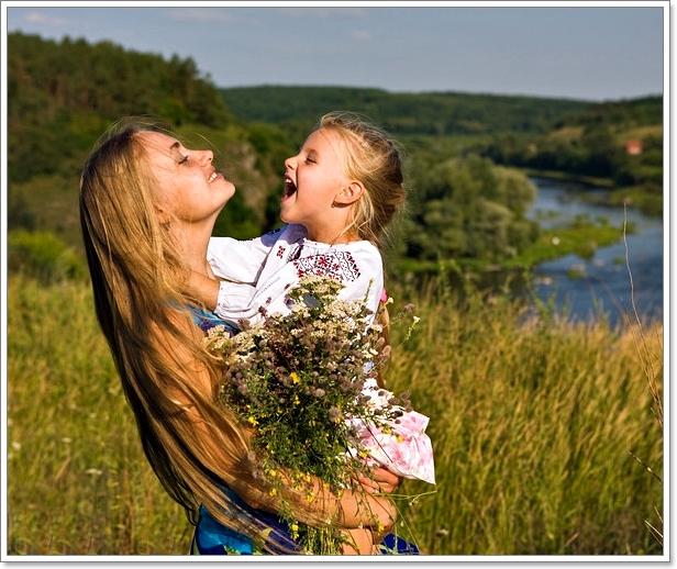 русская мама и сын на природе онлайн для