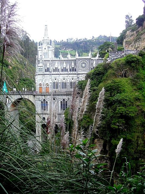 Кафедральный собор Лас-Лахас в Колумбии 88714