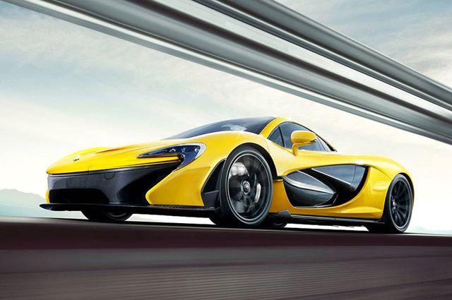 Фотографии McLaren P1. Новый роскошный спортивный суперкар Фотографии