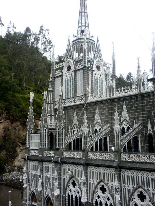 Кафедральный собор Лас-Лахас в Колумбии 52691