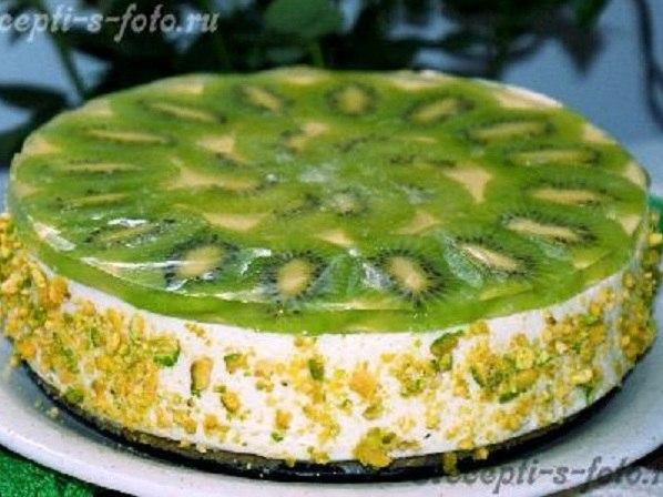 творожный торт с киви (598x448, 62Kb)