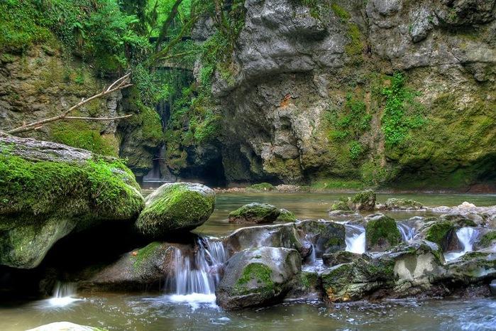 Водопад La Tine de Conflens, Швейцария 42227