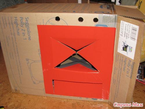 Как сделать из коробки микроволновку