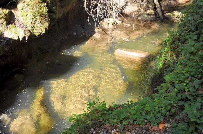 Водопад La Tine de Conflens, Швейцария 79143