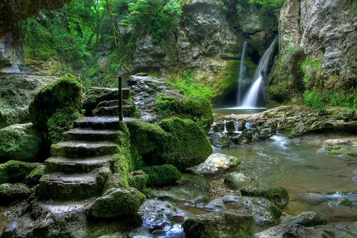 Водопад La Tine de Conflens, Швейцария 42709