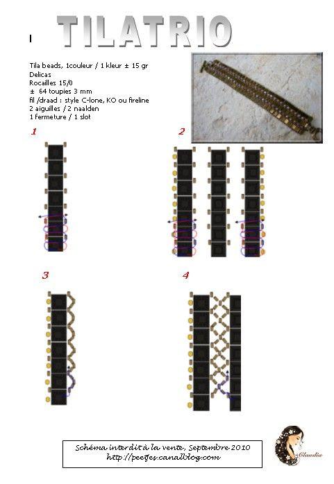 Супер модные браслеты из бисера своими руками.  Схемы.  Знаю, что многие из Вас, как и я, любим всевозможные...