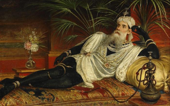 Egisto Sarri (1837-1901) - Odalisk (700x438, 280Kb)