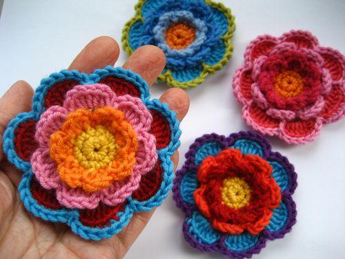 связать крючком цветы (500x375, 39Kb)
