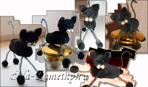 Как сделать игрушку для кота своими руками в домашних условиях из ниток 82