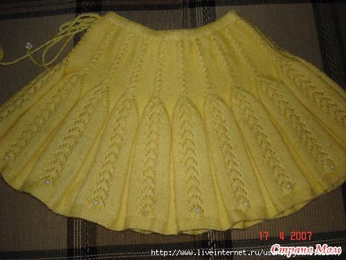 Увидела вот такую юбку на