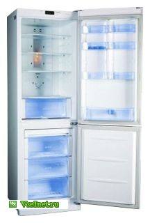 Холодильник LG GA-B409 UVCA суперзаморозка, индикация температуры (216x320, 14Kb)