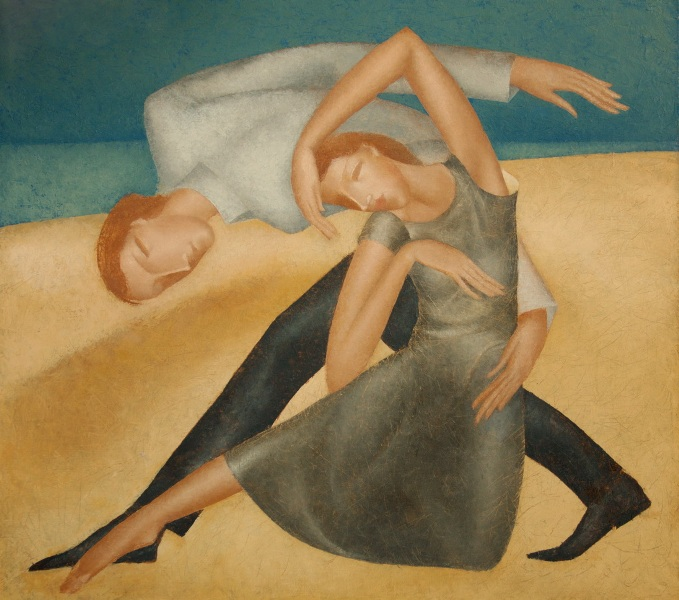 Танец на песке (679x600, 132Kb)