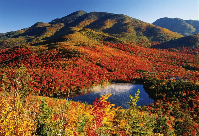 a geographical overview of the adirondacks a group of mountains northeast of new york