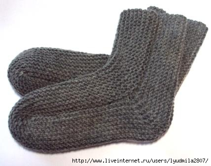 Для вязания носков выбирайте
