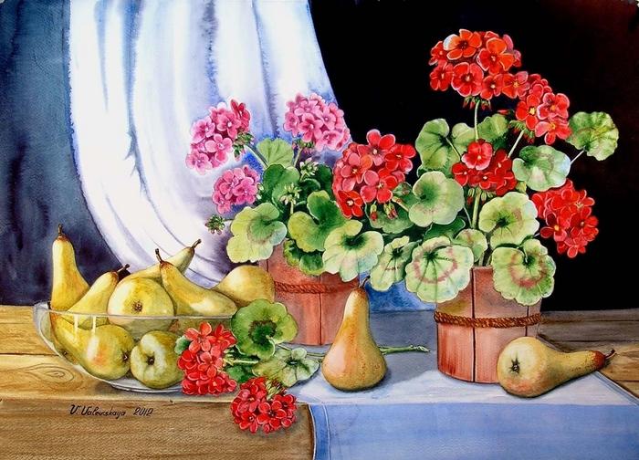 www.ArtsGallery.pro_Valevskaya_Valentina_Pears_And_Geranium_medium_222387 (700x504, 207Kb)