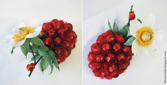 ягода из конфет (4) (700x357, 172Kb)