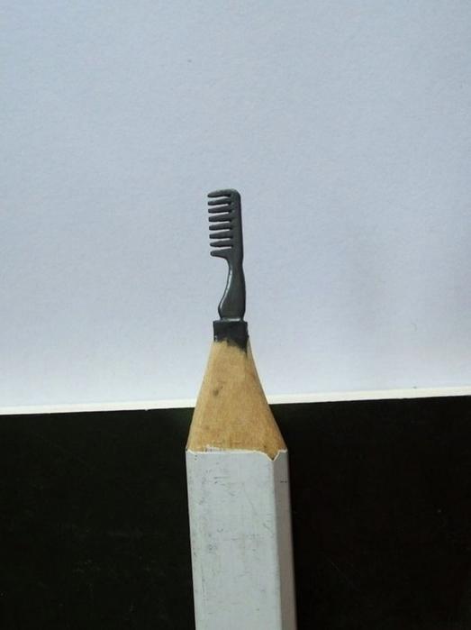 миниатюры из карандашного грифеля фото 1 (523x700, 130Kb)