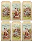 ������ 1880's pretty advertisement tags ~ lilac-n-lavender (540x700, 333Kb)