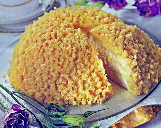 Торт Мимоза   проще простого, вкуснее вкусного!