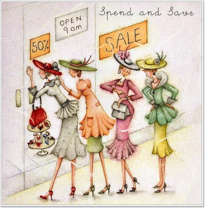mi baul del decoupage nos vamos de compras  ilustraciones happy retirement clip art images happy retirement clip art images