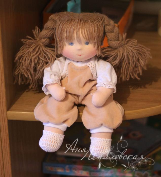 Вальдорфскую куклу своими руками 678